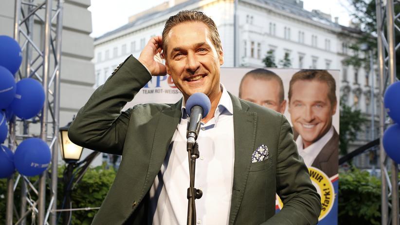 Österreich: Der Chef der FPÖ, Heinz-Christian Strache