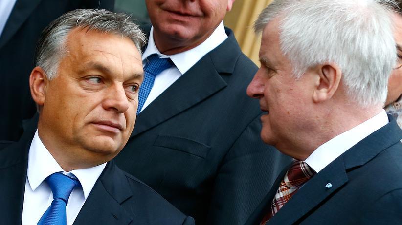 Orbán und Seehofer in Kloster Banz
