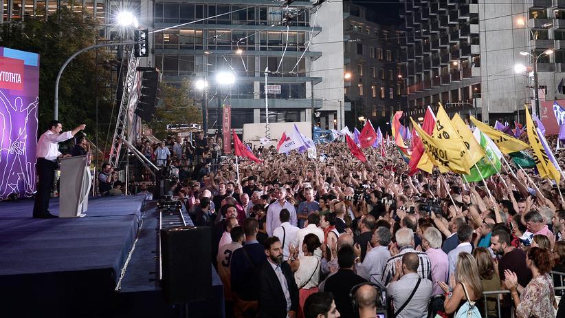 Griechenland-Wahl: Tsipras stemmt sich gegen den Negativtrend