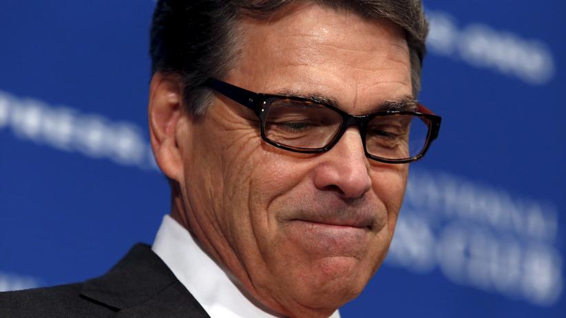 Rick Perry zieht sich aus dem Rennen um die US-Präsidentschaft zurück.