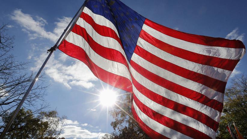 USA Flagge Wahl Barack Obama