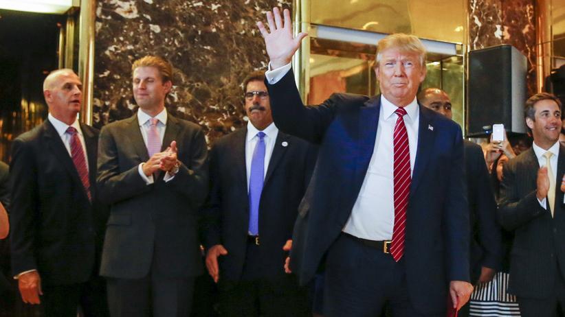 US-Wahlen: Trump schwört Republikanern die Treue