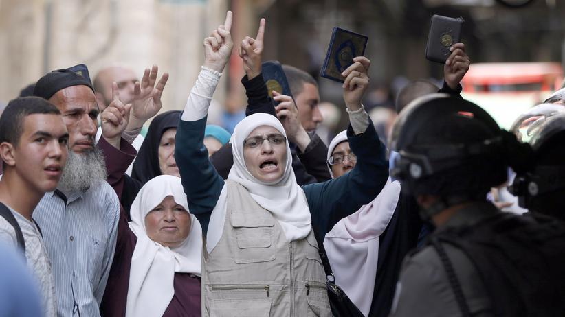 Zusammenstöße an der Al-Aksa-Moschee in Jerusalem