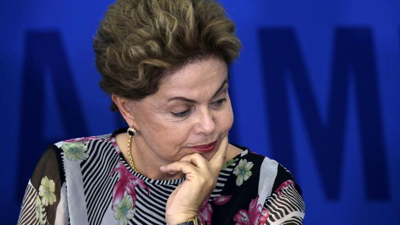 Brasilien Dilma Rousseff Petrobas