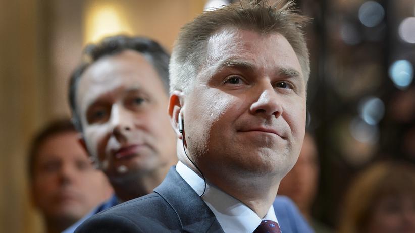 FDP-Präsident Philipp Müller und Toni Brunner