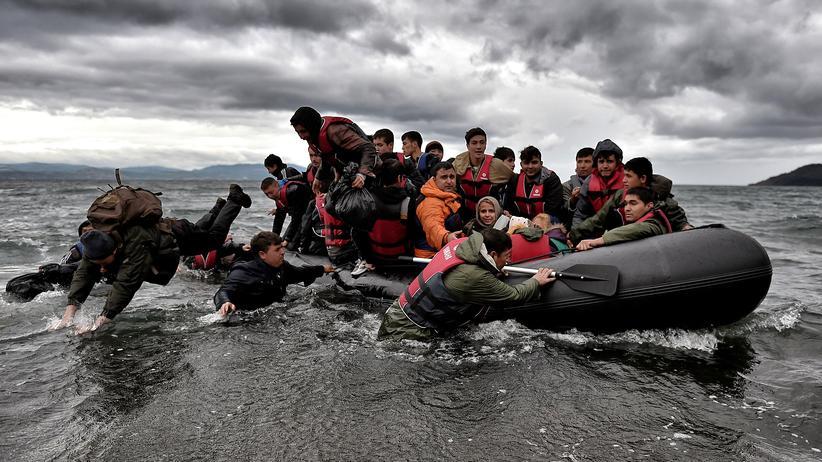 Politik, Flüchtlingskrise, Ägäis, Türkei, Griechenland, Flüchtling