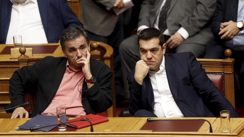 Athen: Griechisches Parlament verabschiedet Sparpaket