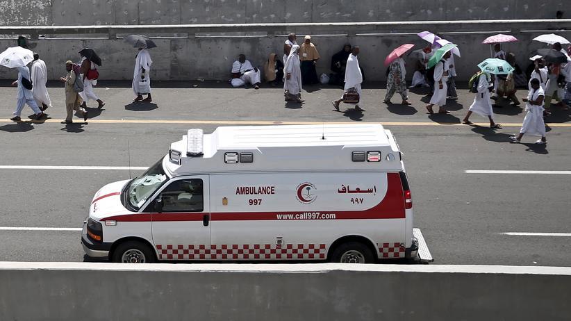 Rettungskräfte in Saudi-Arabien (Archivbild)