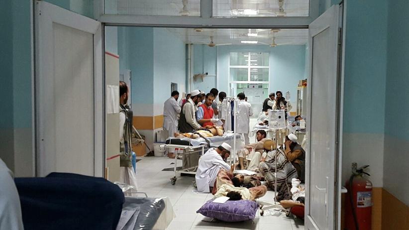 Afghanistan: Krankenhaus von Ärzte ohne Grenzen in Kundus