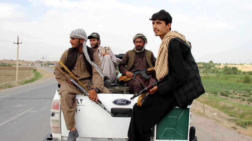 Afghanistan: Afghanische Polizisten in der Provinz Kundus