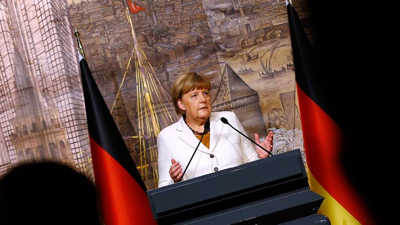 Türkei: Kanzlerin Angela Merkel in Istanbul