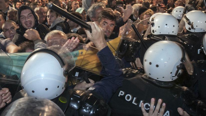 Montenegro Proteste