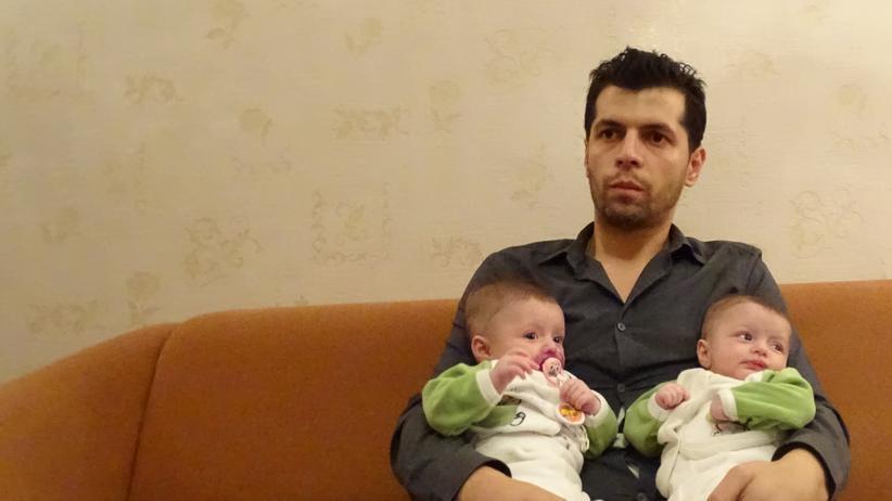 Syrische Flüchtlinge, Russland, Bürgerkrieg, Syrien, Moskau