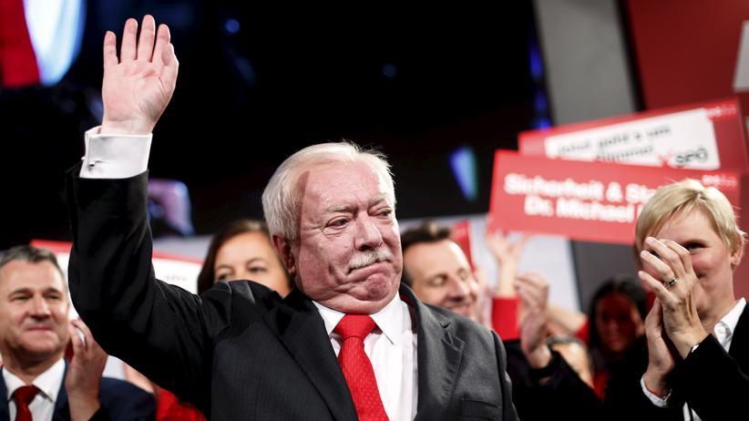 Landtagswahl: Der bisherige und künftige Bürgermeister Wiens, Michael Häupl