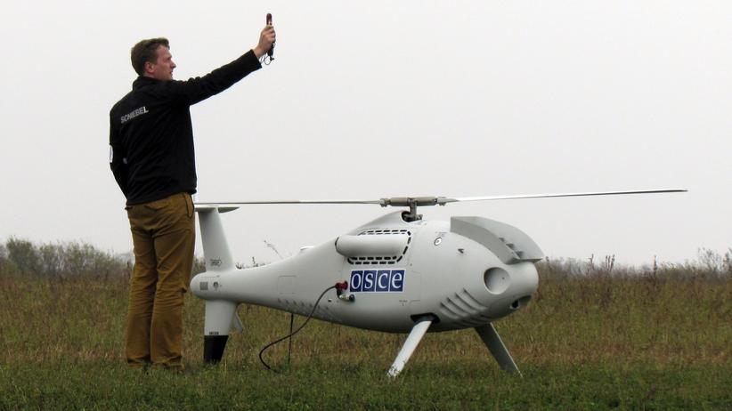 OSZE: Ukrainische Soldaten und Rebellen stören OSZE-Luftaufklärung