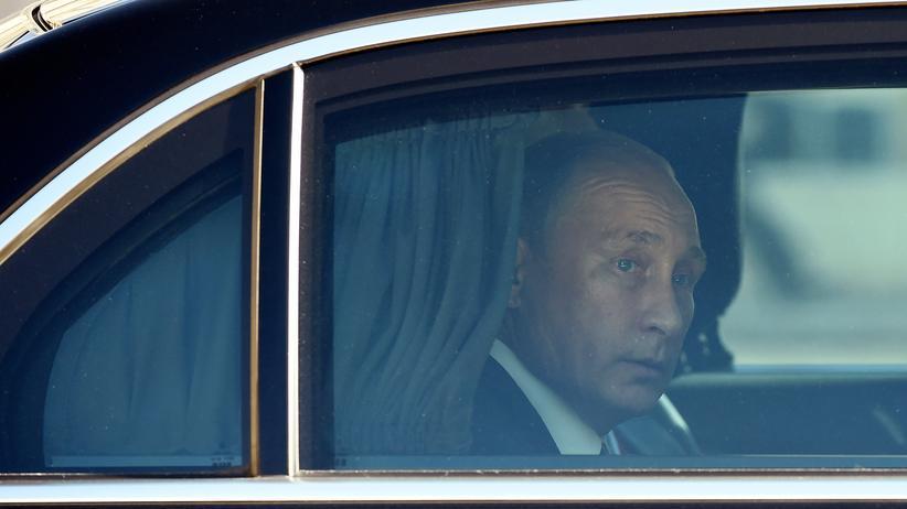 Syrien-Konflikt: Russlands Präsident Wladimir Putin in Paris