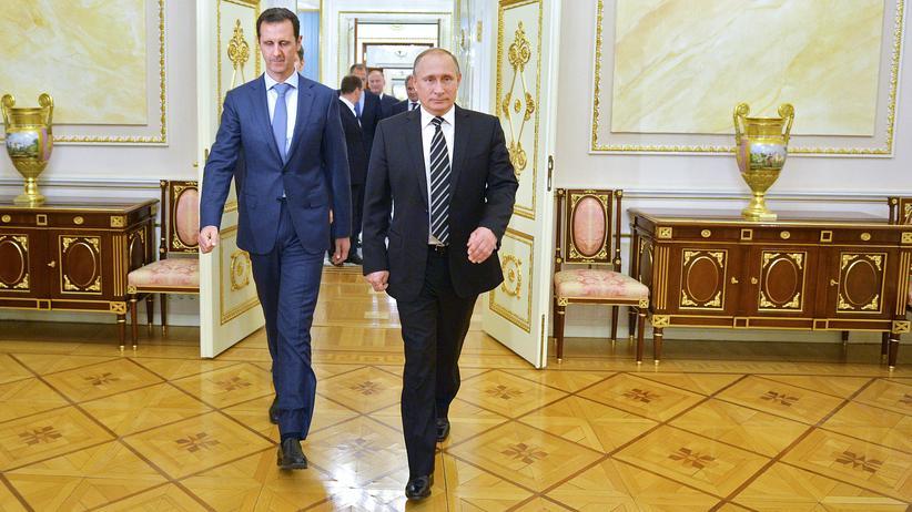 Assad zu Besuch bei Putin