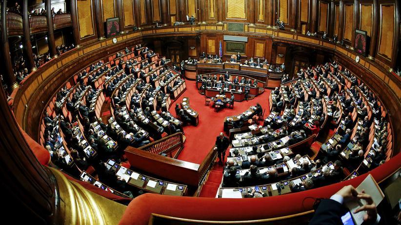 Verfassungsreform: Der Senat in Rom (Archivbild)