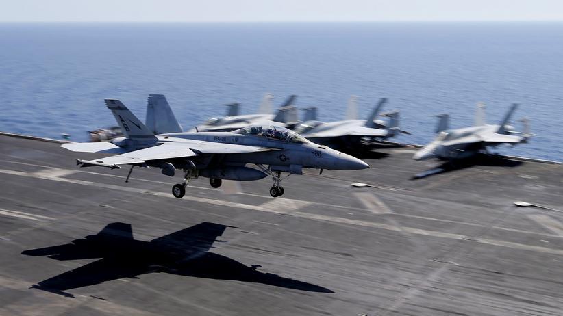 Syrien: US-Jets müssen russischen Kampffliegern ausweichen