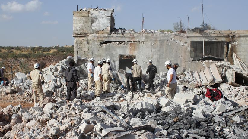 Syrien Russland Assad Bombardement