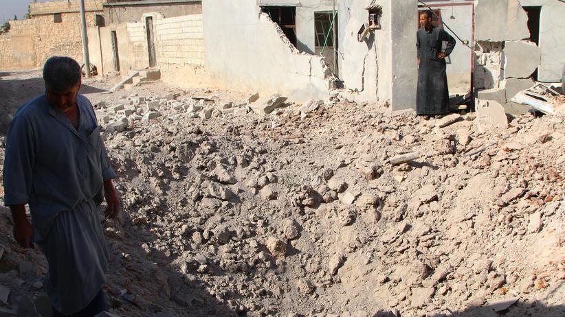 Die russischen Luftangriffe treffen die Bevölkerung in Syrien hart.