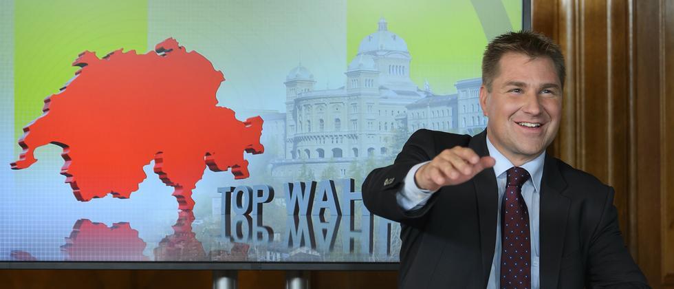 SVP-Präsident Toni Brunner