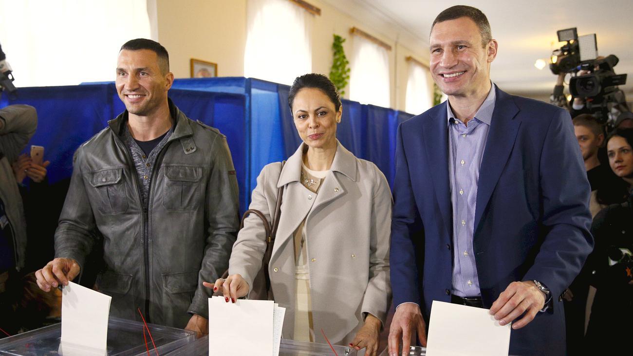 Ukraine: Klitschko muss in die Stichwahl   ZEIT ONLINE