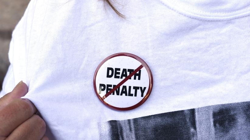 USA: US-Bürger demonstrieren gegen die Todesstrafe, hier in Oklahoma City. (Archiv)