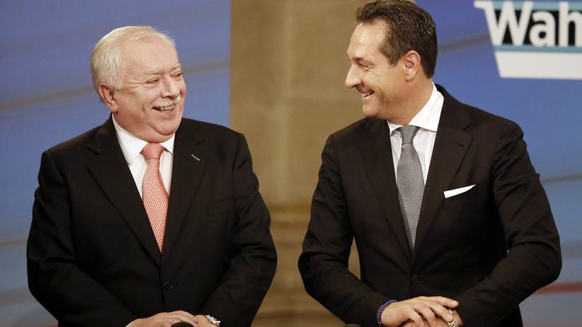Wahlkampf-Duell: Michael Häupl und Heinz-Christian Strache