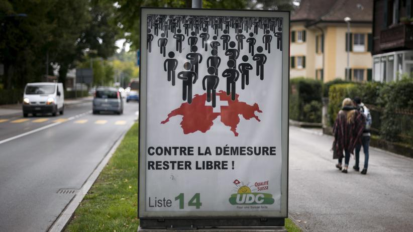 Politik, Schweiz-Wahl, Schweiz, Christoph Blocher, FDP, SVP, Bundesrat, Bern