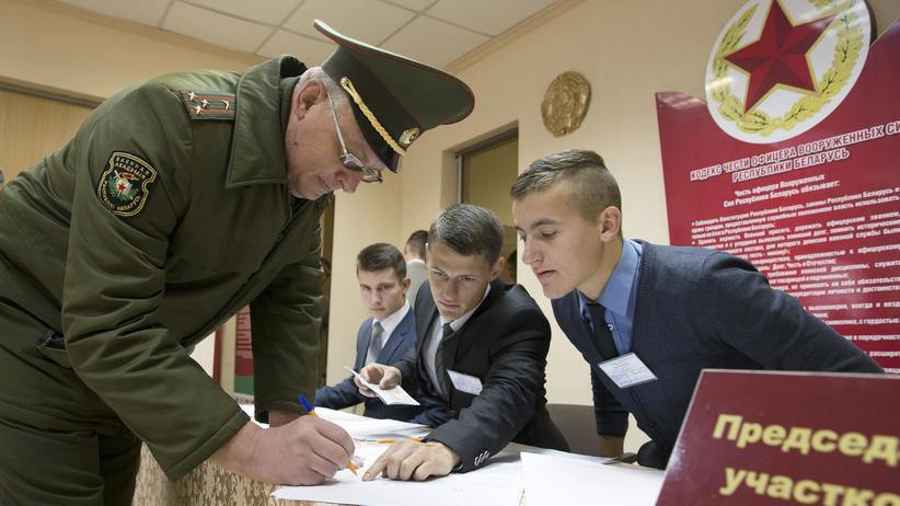 Belarus: Langzeit-Präsident Lukaschenko vor Wiederwahl