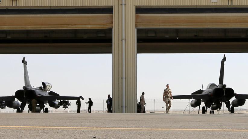 Französische Kampfjets in der Golf-Region