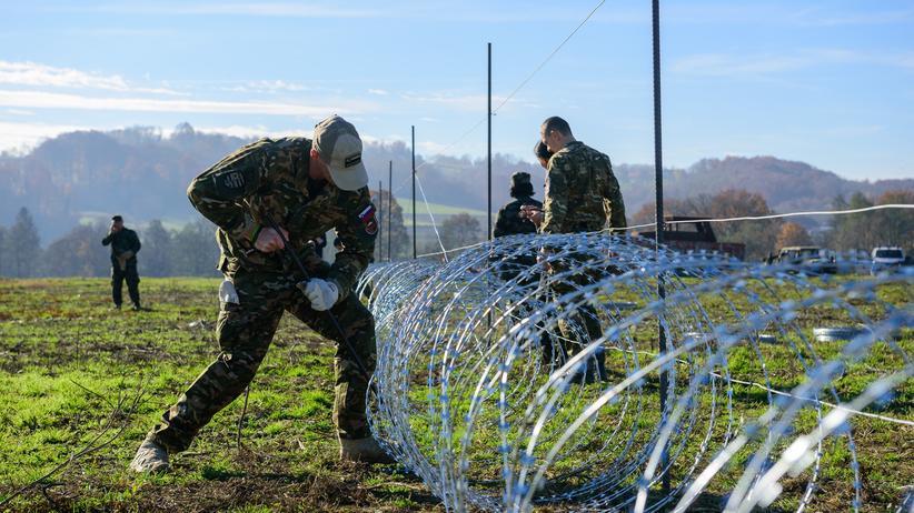 Politik, Grenzkontrollen, Schengen-Abkommen, Schengen-Raum, Grenzschutz, Flüchtling, Europa,Ungarn