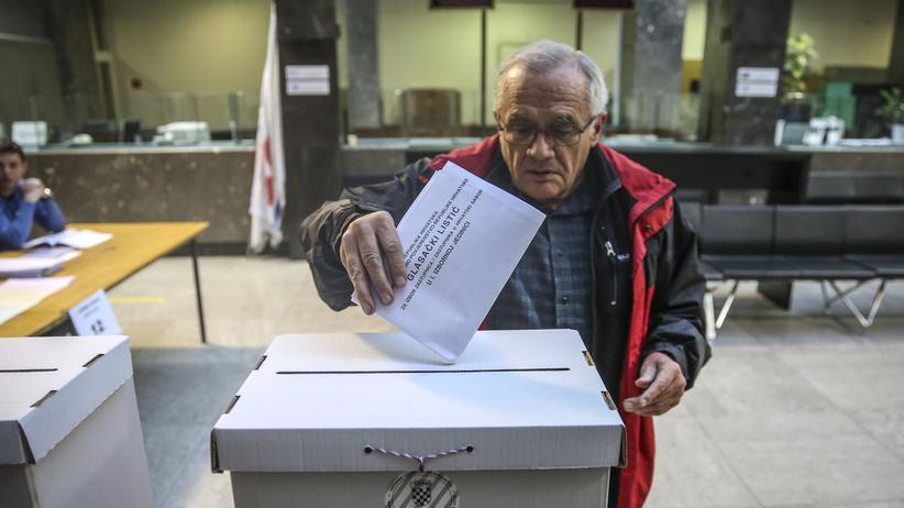 Zagreb: Starke Wahlbeteiligung in Kroatien