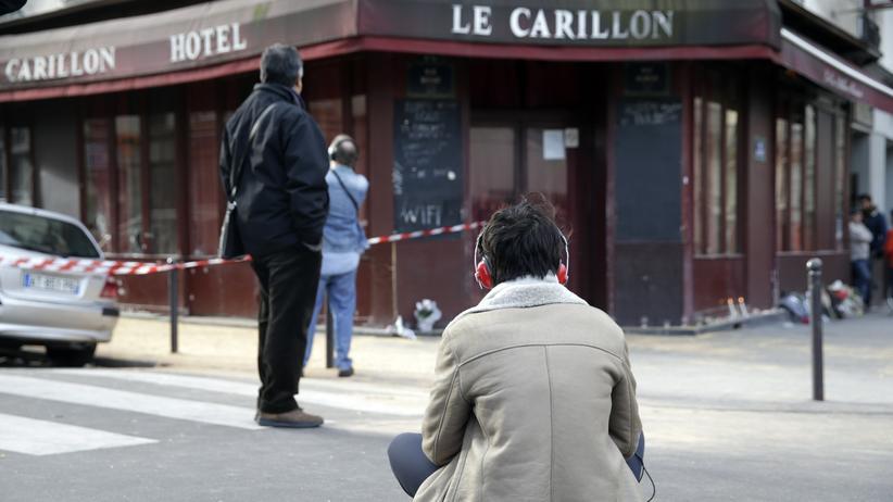 Paris Frankreich Attentat Terror