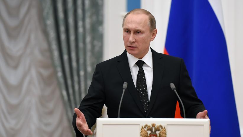 Jet-Abschuss: Wladimir Putin