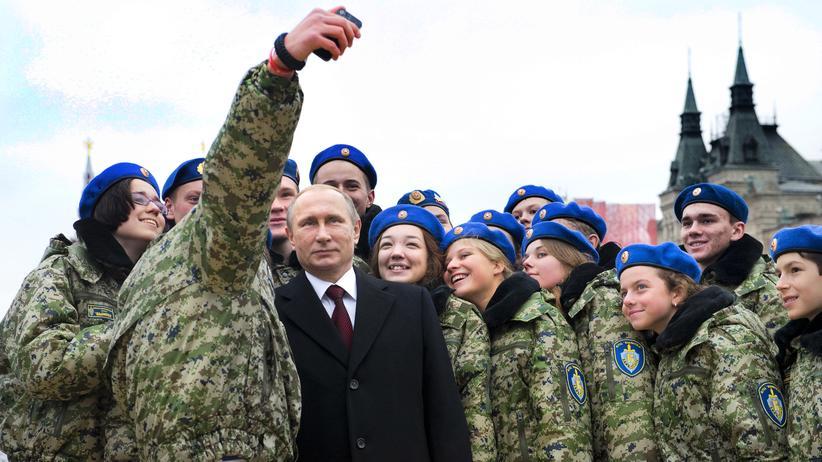 Russland Tag Einheit Volk