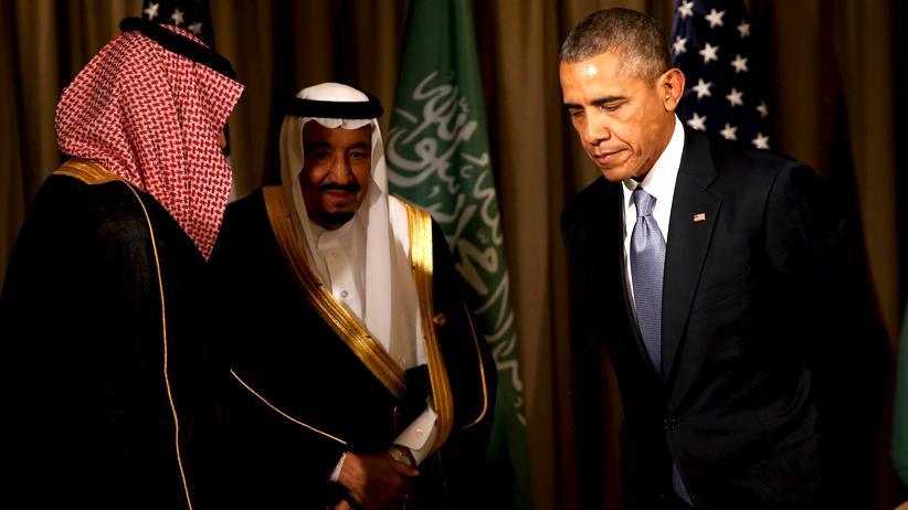 Rüstung: US-Präsident Barack Obama und der saudische König Salman beim G20-Gipfel in der Türkei am 15. November 2015