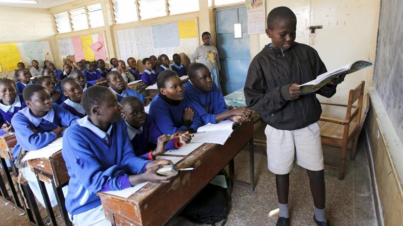 Schüler in Kenias Hauptstadt Nairobi
