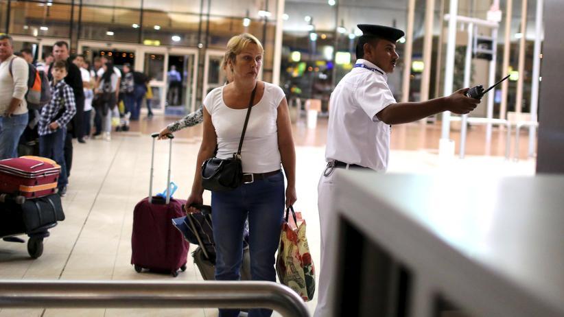 Ägypten: Chaos auf dem Flughafen Scharm al-Scheich