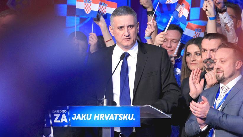 Konservative Opposition gewinnt Parlamentswahl in Kroatien