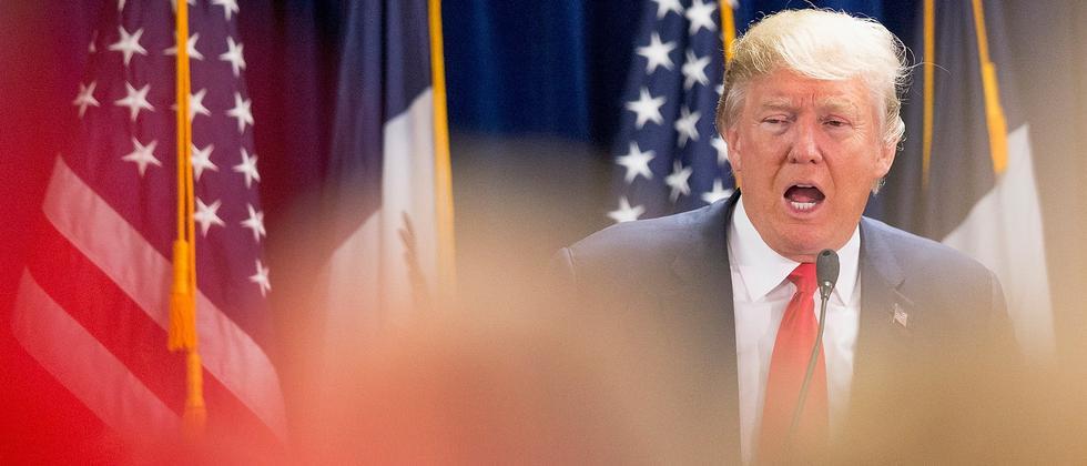 Die Rhetorik von Präsidentschaftskandidat Donald Trump wird immer aggressiver.