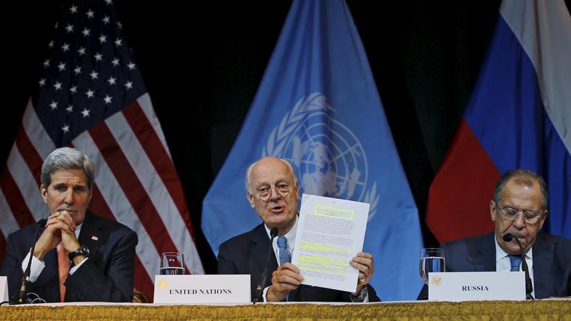 Politik, Syrien-Konferenz in Wien, Wien,     Syrien,     Waffenstillstand,     Europa,     Krieg,     Paris