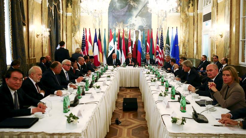 Politik,  Syrien-Konferenz in Wien,   Syrien ,    Paris,     Islamistischer Terrorismus,     Terrorismus