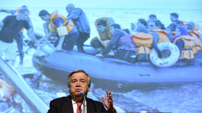 Flüchtlingskrise: UN-Flüchtlingskommissar nimmt Europa in die Pflicht