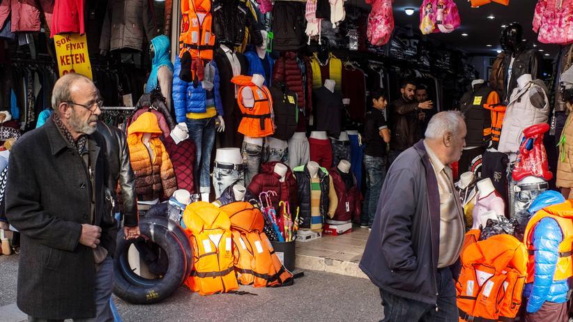 Flüchtlinge, Politik, Griechenland, Syrien, Türkei, Bootsflüchtling, Izmir