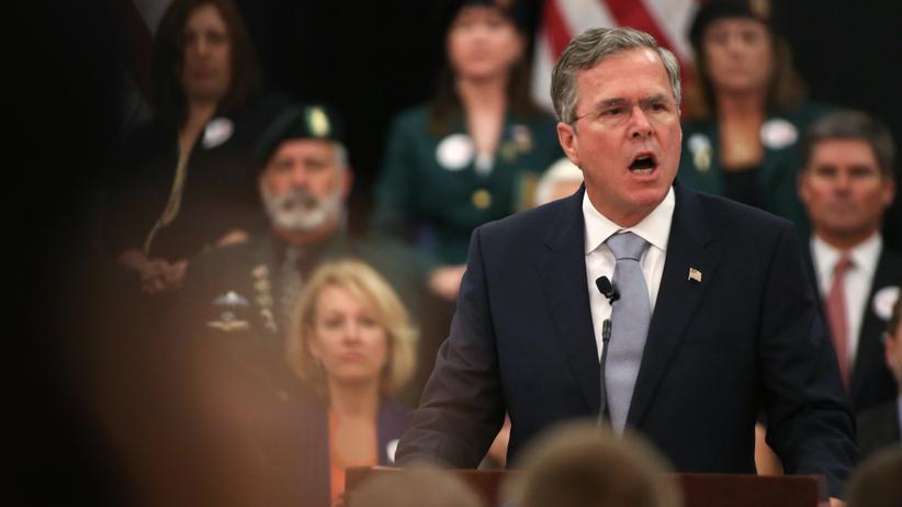 USA: Jeb Bush im Wahlkampf in Charleston, South Carolina (Archiv)
