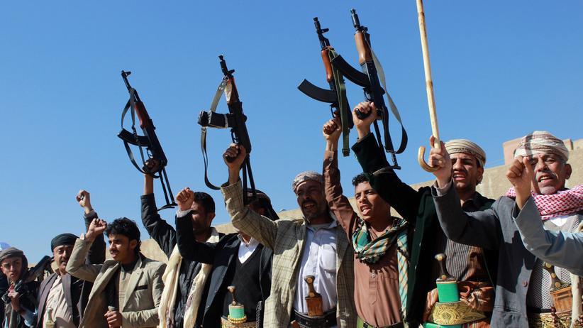 Bürgerkrieg: Shiitische Huthi-Rebellen in Sanaa.