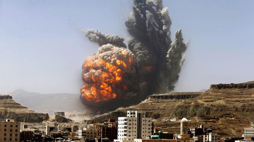 Bundesnachrichtendienst: Luftschlag gegen ein Waffendepot nahe Sanaa, Jemen