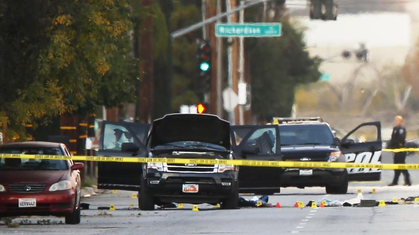 San Bernardino: Die Täter waren im Besitz von Sprengstoff und rund 5.000 Schuss Munition, sagen die Ermittler.